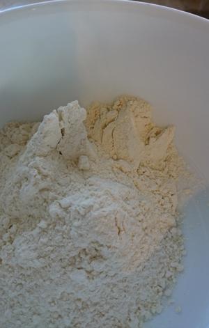 Mehl für Hefe