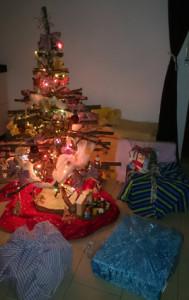 Weihnachtsbaumhell
